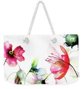 Decorative Wild Flowers Weekender Tote Bag