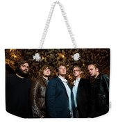 Deer Tick Portrait By Anna Webber Weekender Tote Bag