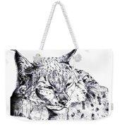 Deer Tiger Weekender Tote Bag