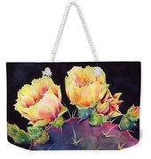 Desert Bloom 2 Weekender Tote Bag by Hailey E Herrera