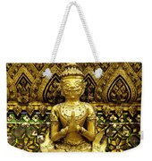 Detail From A Buddhist Temple In Bangkok Thailand Weekender Tote Bag