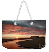 Devils Kitchen Sunset Weekender Tote Bag
