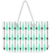 Diamonds In Aqua Weekender Tote Bag