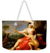 Diana And Cupid Weekender Tote Bag