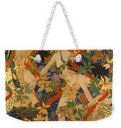 Diana And Her Nymphs Weekender Tote Bag