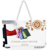Digital Marketing Weekender Tote Bag