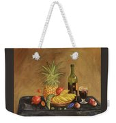 Dinner Weekender Tote Bag