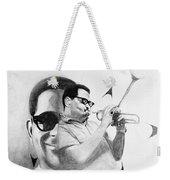 Dizzy Gillespie (1917-1993) Weekender Tote Bag