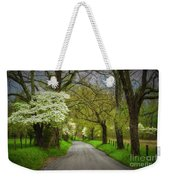 Dogwood Trail, Smoky Mountain, Tennessee Weekender Tote Bag