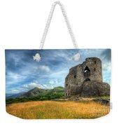 Dolbadarn Castle Weekender Tote Bag by Adrian Evans