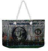 Dollar Bill Weekender Tote Bag