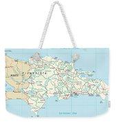 Dominican Republic Weekender Tote Bag