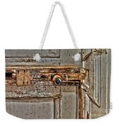 Door Latch Weekender Tote Bag