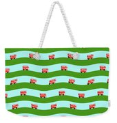 Double Decker Bus Weekender Tote Bag