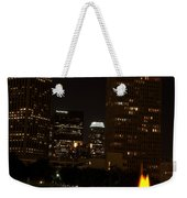 Downtown L.a. In Hdr Weekender Tote Bag
