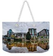 Downtown Of Greenville South Carolina Around Falls Park Weekender Tote Bag