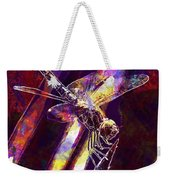 Dragonfly Insect Close  Weekender Tote Bag