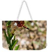 Dragonfly Resting Weekender Tote Bag