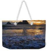 Dramatic Sunset Oregon Coast Usa Weekender Tote Bag