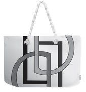Drawn2shapes5 Weekender Tote Bag