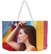 Dream Of A Woman Weekender Tote Bag