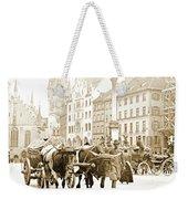 Dresden, Altmarkt Square, Germany, 1903 Weekender Tote Bag