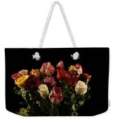 Dried Roses Weekender Tote Bag
