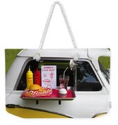 Drive-in Weekender Tote Bag
