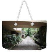 Driveway Fallingwater  Weekender Tote Bag