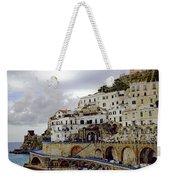 Driving The Amalfi Coast In Italy Weekender Tote Bag