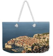 Dubrovnik And The Adriatic Coast In Croatia Weekender Tote Bag