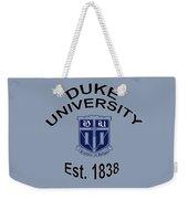 Duke University Est 1838 Weekender Tote Bag