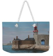 Dun Laoghaire Lighthouse Weekender Tote Bag