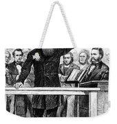 Dwight Lyman Moody Weekender Tote Bag