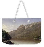Eagle Cliff At Franconia Notch In New Hampshire Weekender Tote Bag