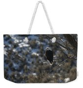 Eagle In Tree Weekender Tote Bag