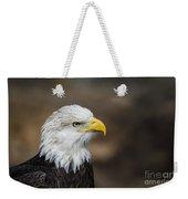 Eagle Profile Weekender Tote Bag