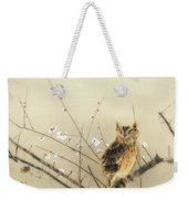 Early Plum Blossoms Weekender Tote Bag