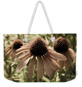 Echinacea Garden Weekender Tote Bag