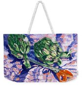 Edible Flowers Weekender Tote Bag