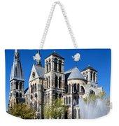 Eglise Notre - Dame En Vaux Weekender Tote Bag