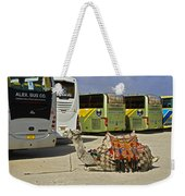 Egyptian Parking Lot Weekender Tote Bag