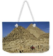 Egypt's Pyramids Of Giza Weekender Tote Bag