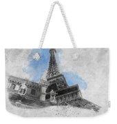 Eiffel Tower Of Paris Weekender Tote Bag