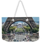 Eiffel Tower Paris Weekender Tote Bag