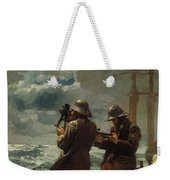 Eight Bells Weekender Tote Bag by Winslow Homer