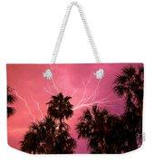 Electrified Palms Weekender Tote Bag