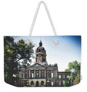 Elkhart County Courthouse - Goshen, Indiana Weekender Tote Bag