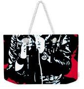 Elvis Weekender Tote Bag by Luis Ludzska