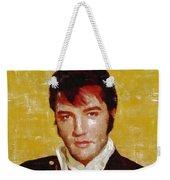 Elvis Presley Y Mb Weekender Tote Bag